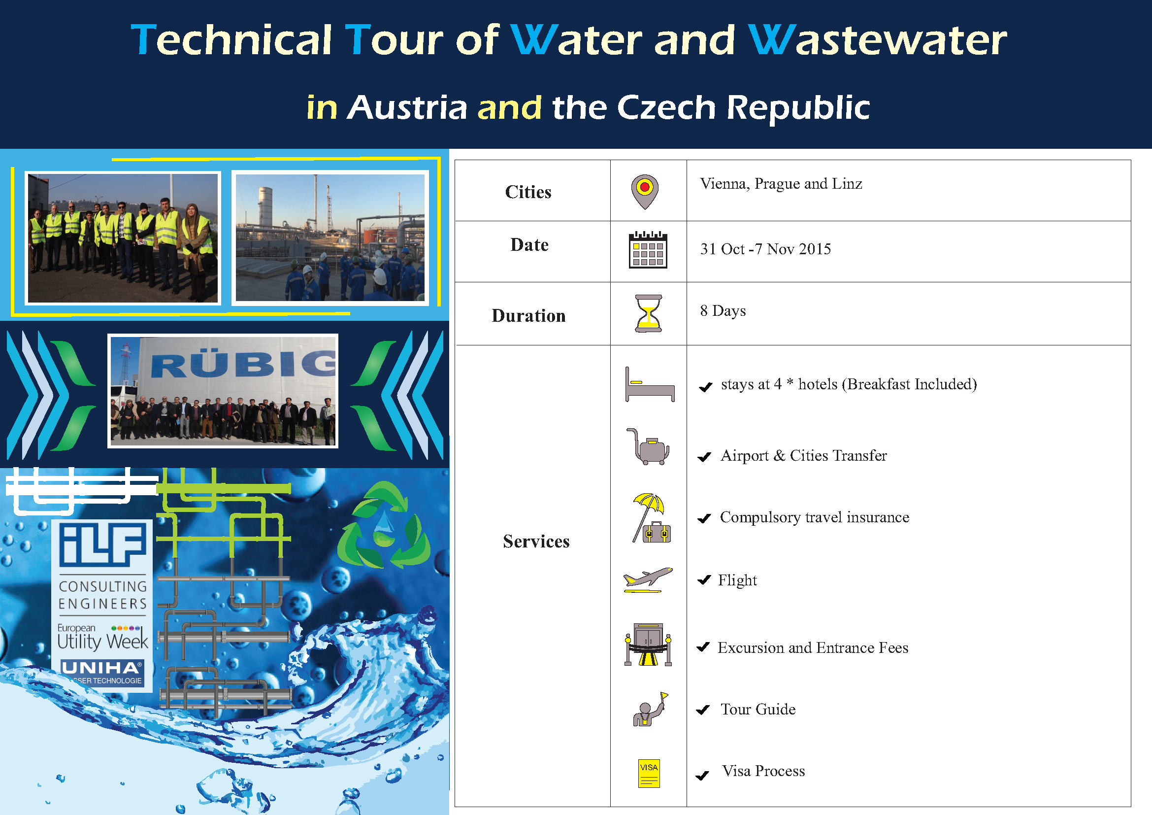 Technical Tour of Water and Wastewater, Oct. 2015